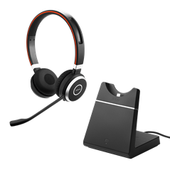 Jabra Evolve 65 with charging stand MS Stereo